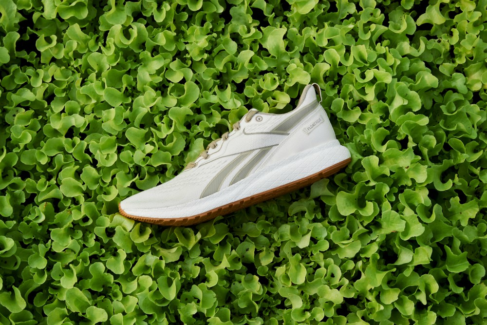 Reebok's new running sneaker, dubbed the Forever Floatride Grow, is made of plant-based materials and has been certified by the USDA.