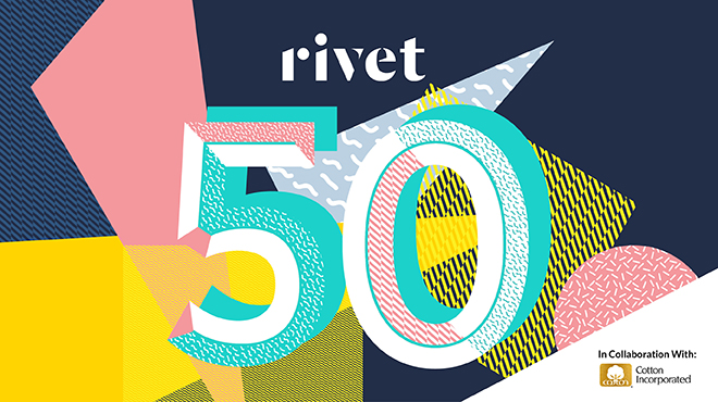 Rivet debuts the 2020 Rivet 50, an annual index of the most influential people advancing the global industry of making and marketing denim.