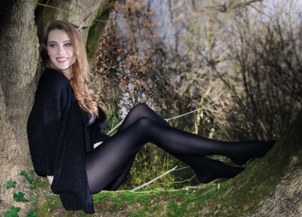 Two new hosiery and socks collections are touting their origins and materials, pushing their sustainable aspects and natural ingredients.