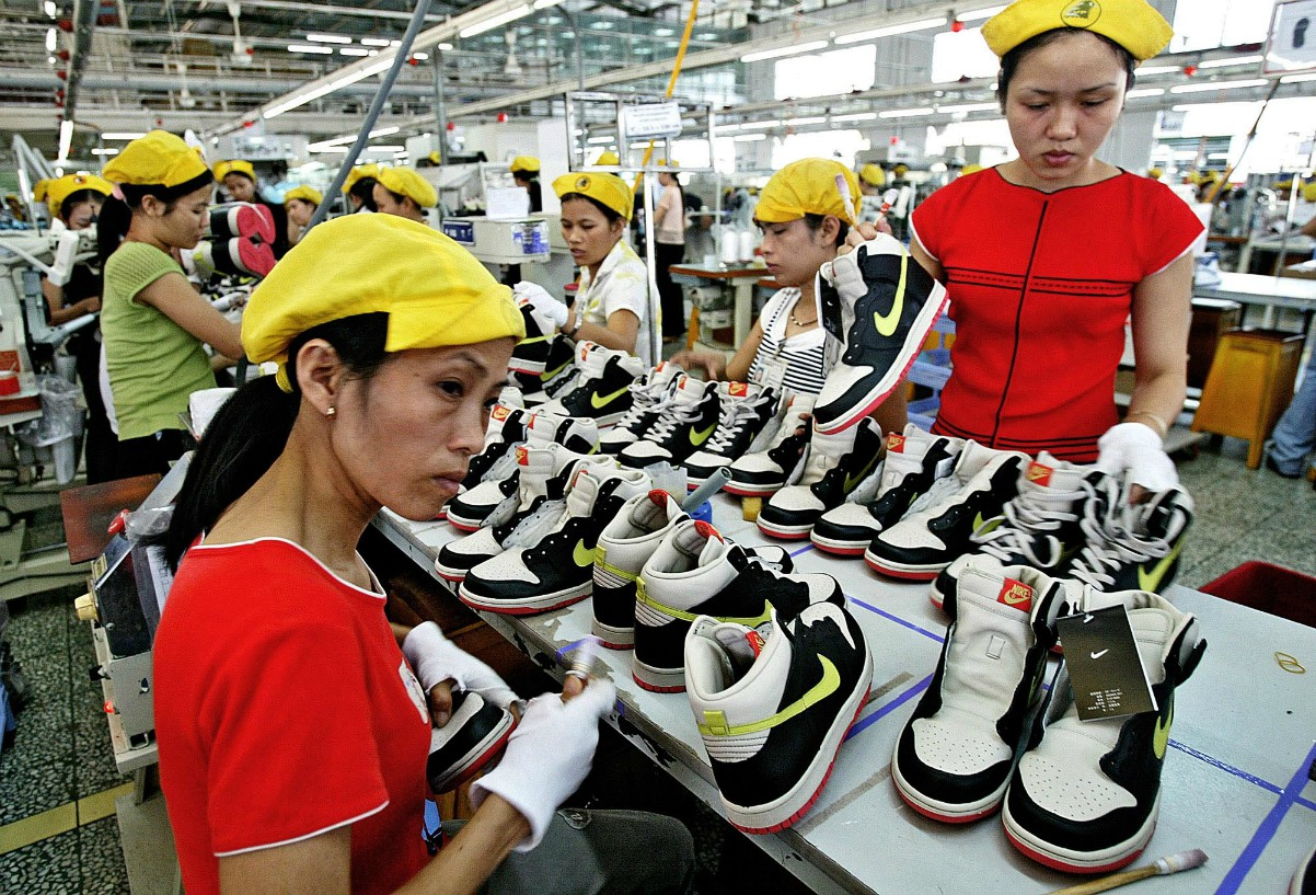 Vietnam manufacturing is being hampered by lockdowns.
