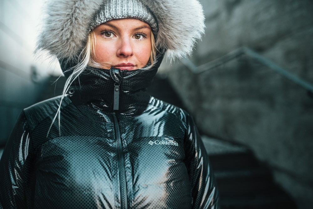 Columbia Sportswear has introduced Omni-Heat Black Dot technology, billed as the outdoor industry's first external thermal shield.