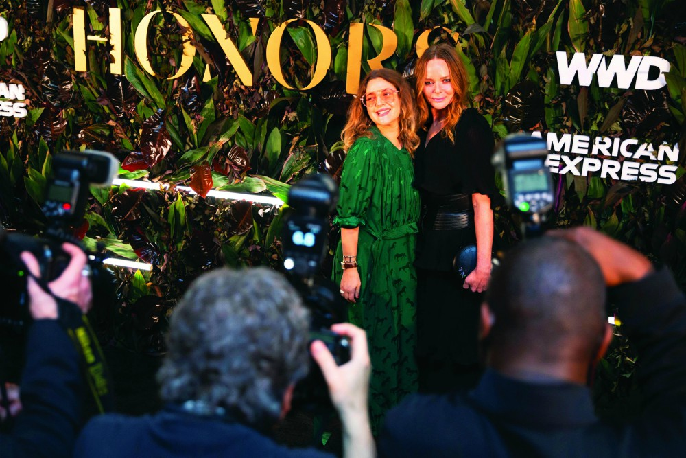 Luxury label Stella McCartney says it's crucial for brands to reduce their environmental impact and also measure, disclose and take action.