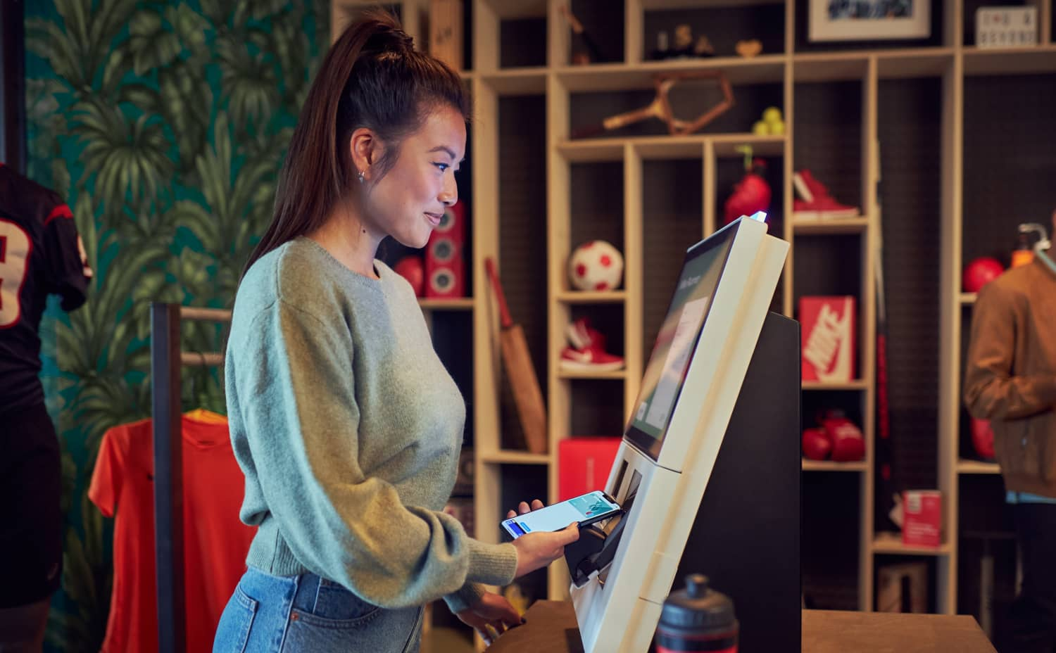 Foot Locker is expanding its partnership with payments company Adyen throughout its 3,100 stores across 27 markets, while Columbia Sportswear Company (CSC) recently selected the solution as its primary payments provider.