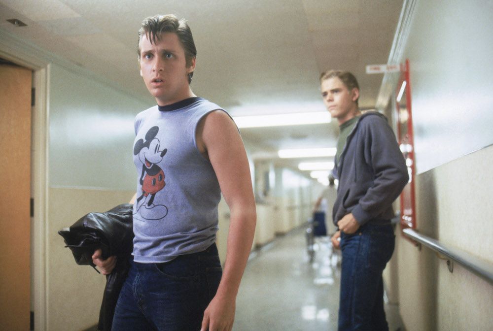 """Nod to everyone's favorite required reading, """"The Outsiders,"""" with a greasers-themed group costume."""