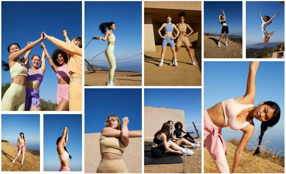PacSun launched its new PacSun Active category of athleisure wear.
