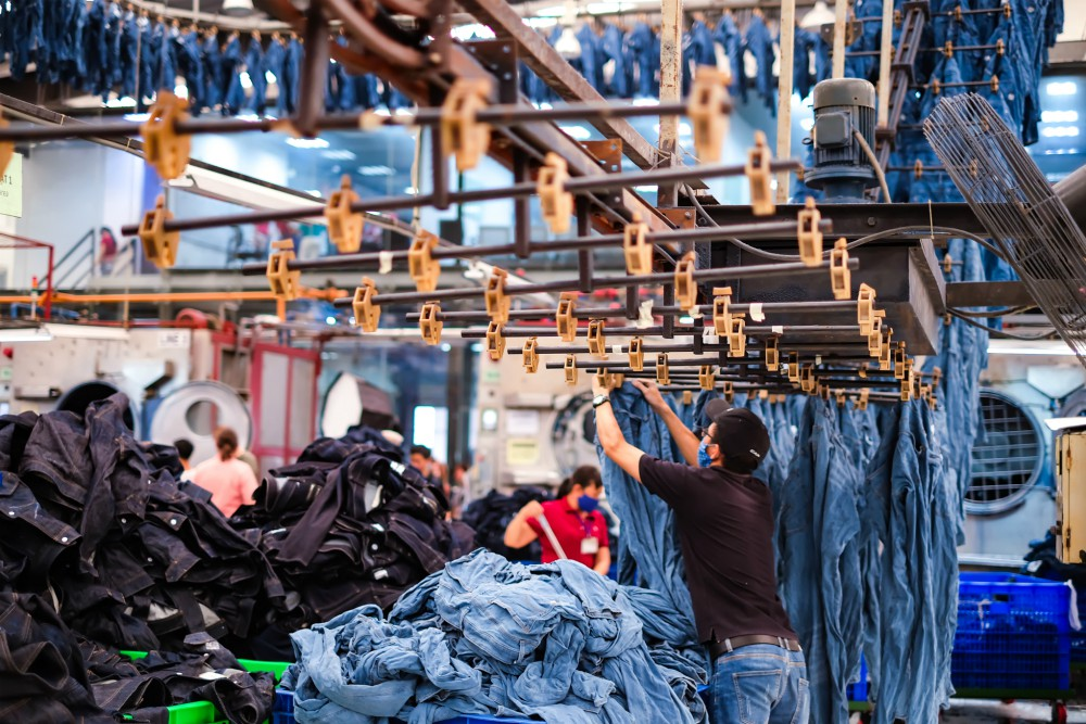U.S. denim apparel imports declined nearly 25 percent to a value $2.8 billion in 2020, with demand hit by the pandemic's economic impact.