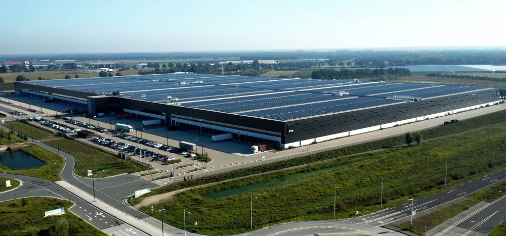 PVH Europe installed what is believed to be the world's most powerful solar roof at its Warehouse and Logistics Center in the Netherlands.