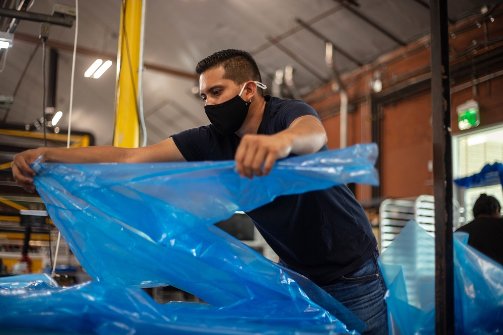 U.S. companies continue to invest and pivot to expand domestic manufacturing of much-needed personal protective equipment, i.e. PPE.