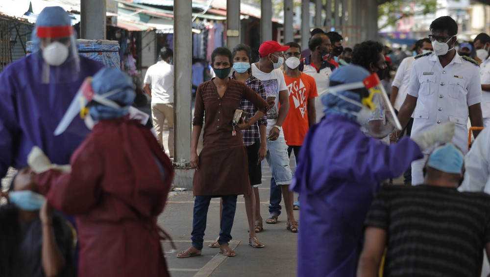 Sri Lanka is facing a massive surge in Covid-19 infections linked to a Brandix garment factory.