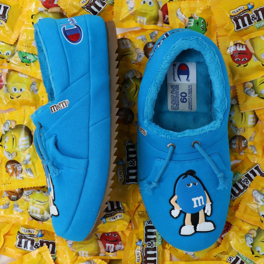 Champion collaborated with M&M for fun, nostalgic quarantine footwear.