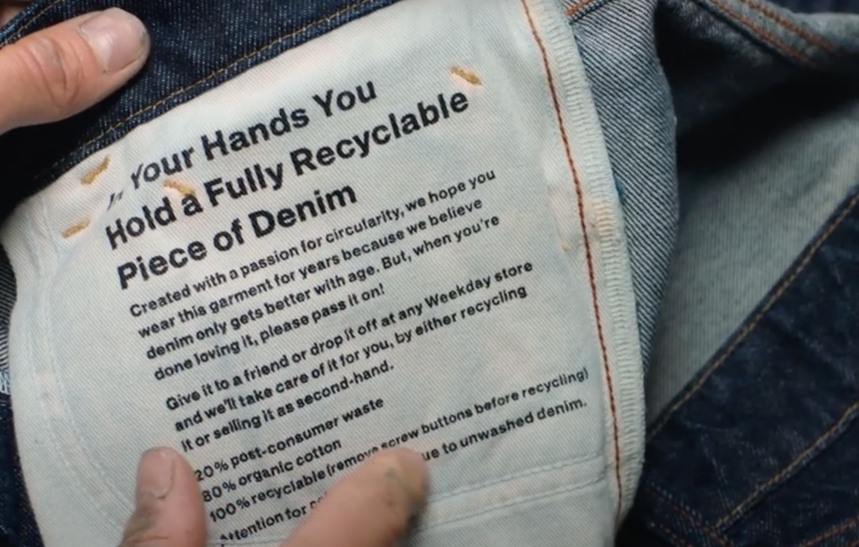 Ellen MacArthur Foundation's new mini documentary highlights the significance and progress of its circular Jeans Redesign guidelines.