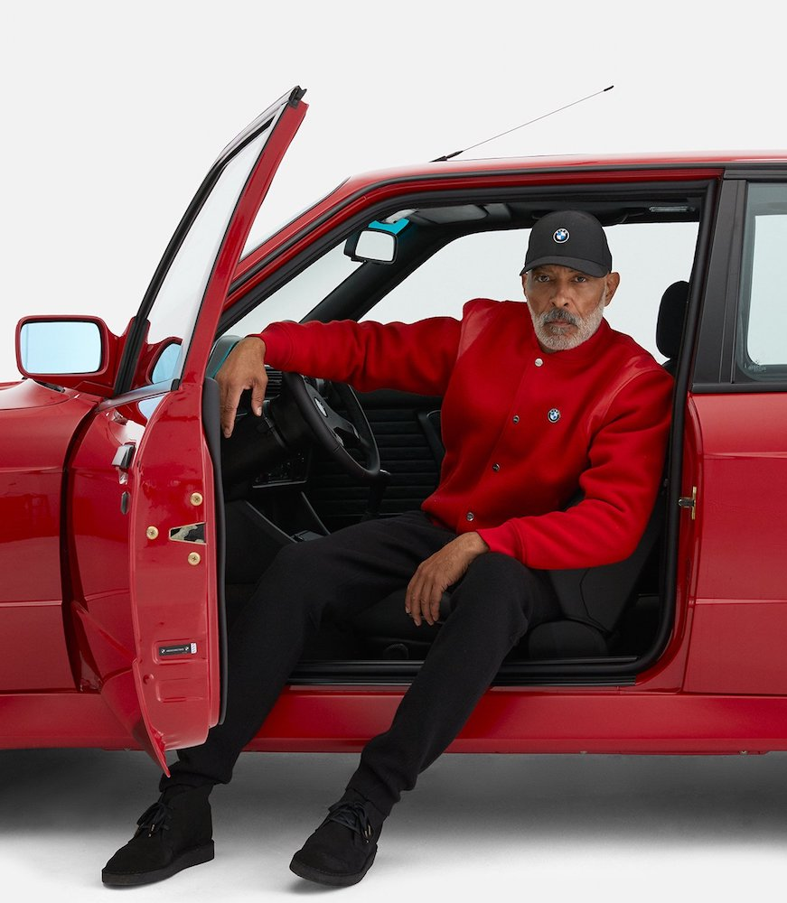 Streetwear brands Tommy Hilfiger and Kith team up with luxury car brands BMW and Mercedes-Benz for limited-edition fashion collections.