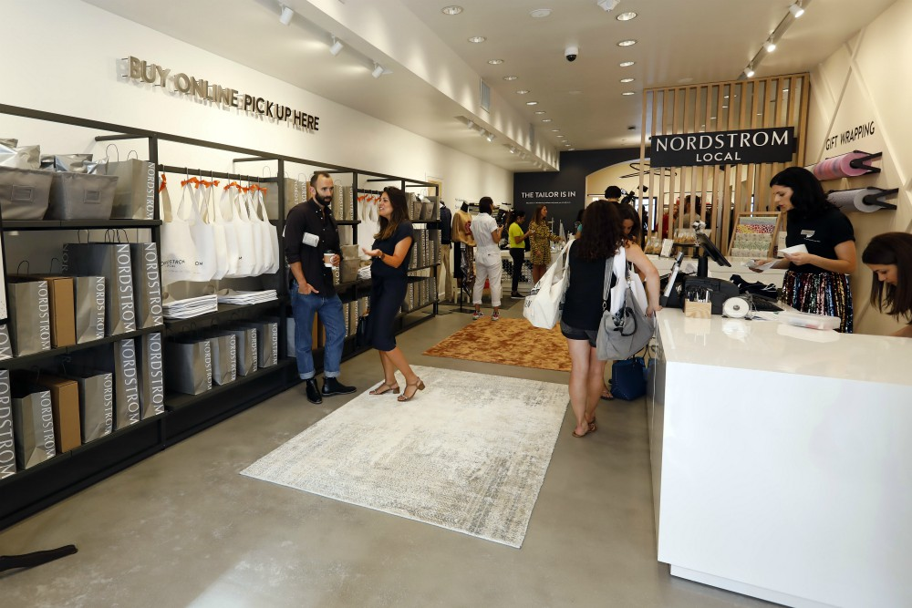 Nordstrom has announced plans to open two new local service hubs over the course of the coming months in Los Angeles.