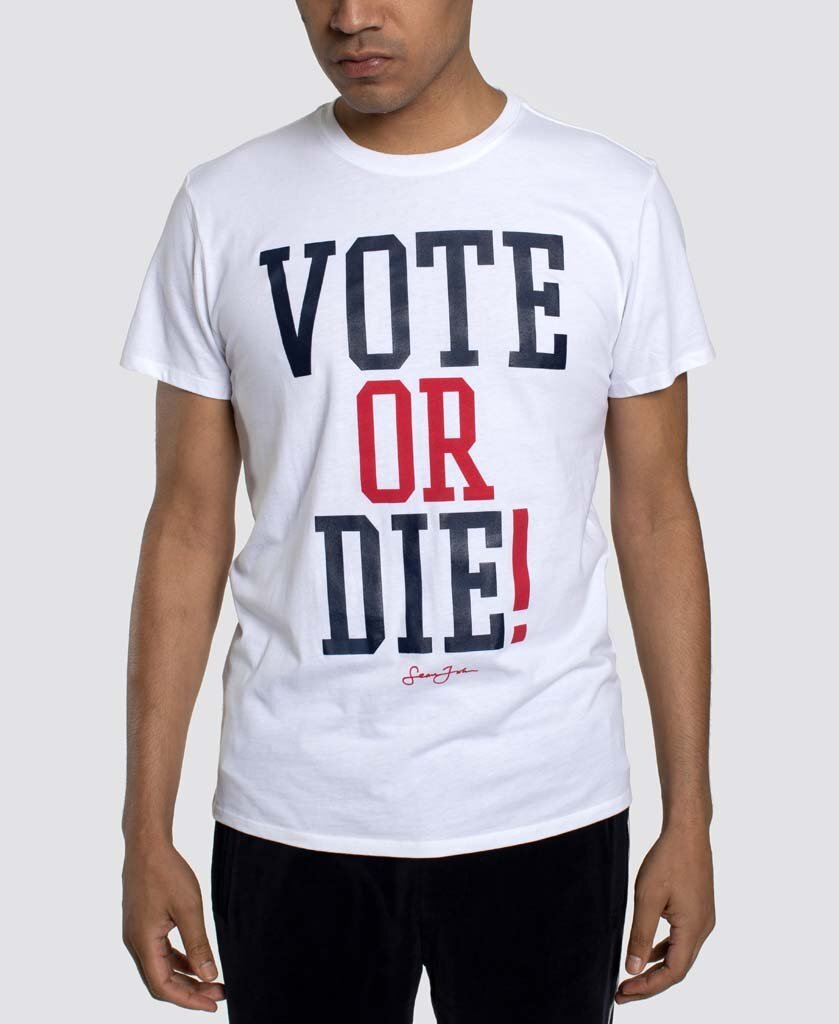 """Sean John and Global Brands Group relaunched """"Vote or Die"""" to support groups that promote voting, education and grassroots empowerment."""