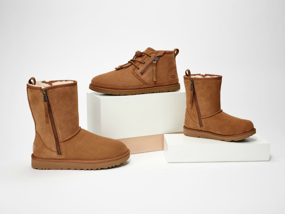 Ugg has collaborated with Zappos Adaptive on a new line of footwear made to accommodate wearers with disabilities.