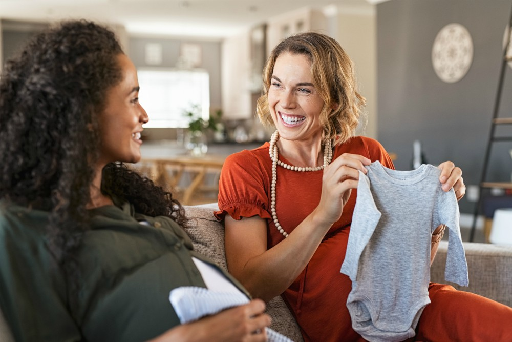 Fashion execs looking forward to a huge spike in sales of baby clothing and children's apparel may need to readjust their expectations.