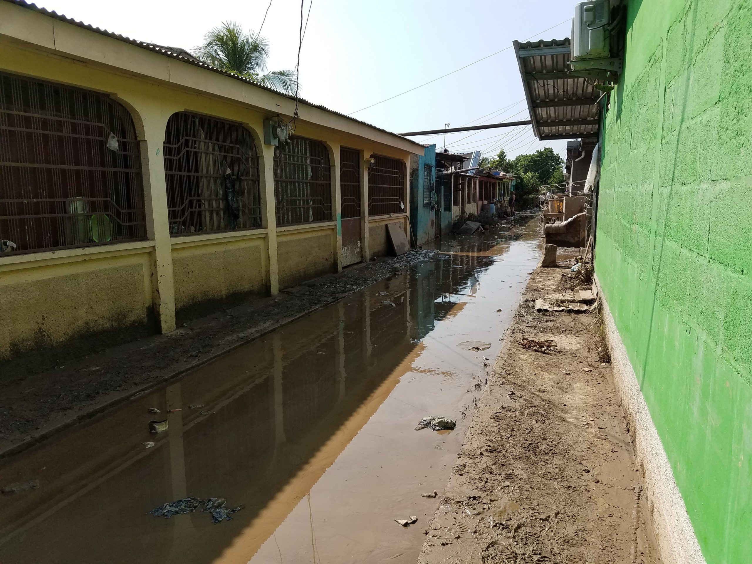 Honduras was hit with severe flooding.