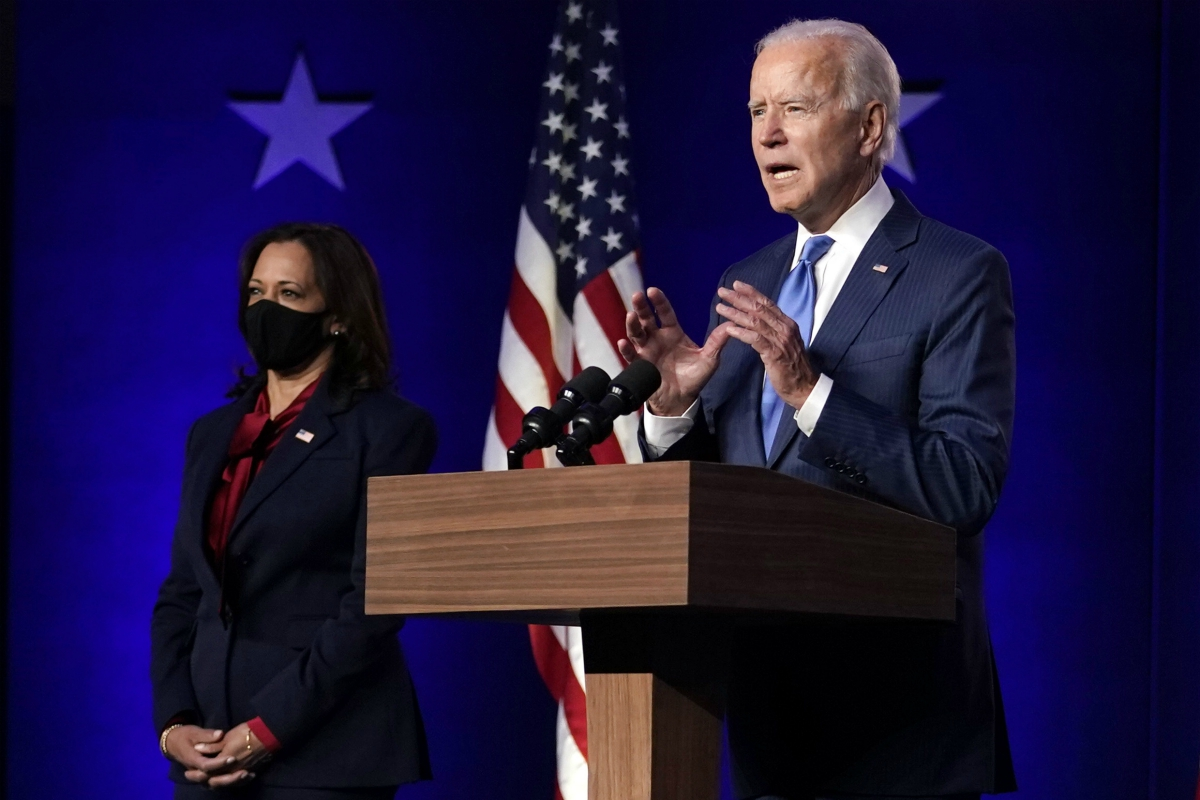 Democratic nominee Joe Biden is projected as winner of the 2020 presidential election and will become the 46th president of the U.S.