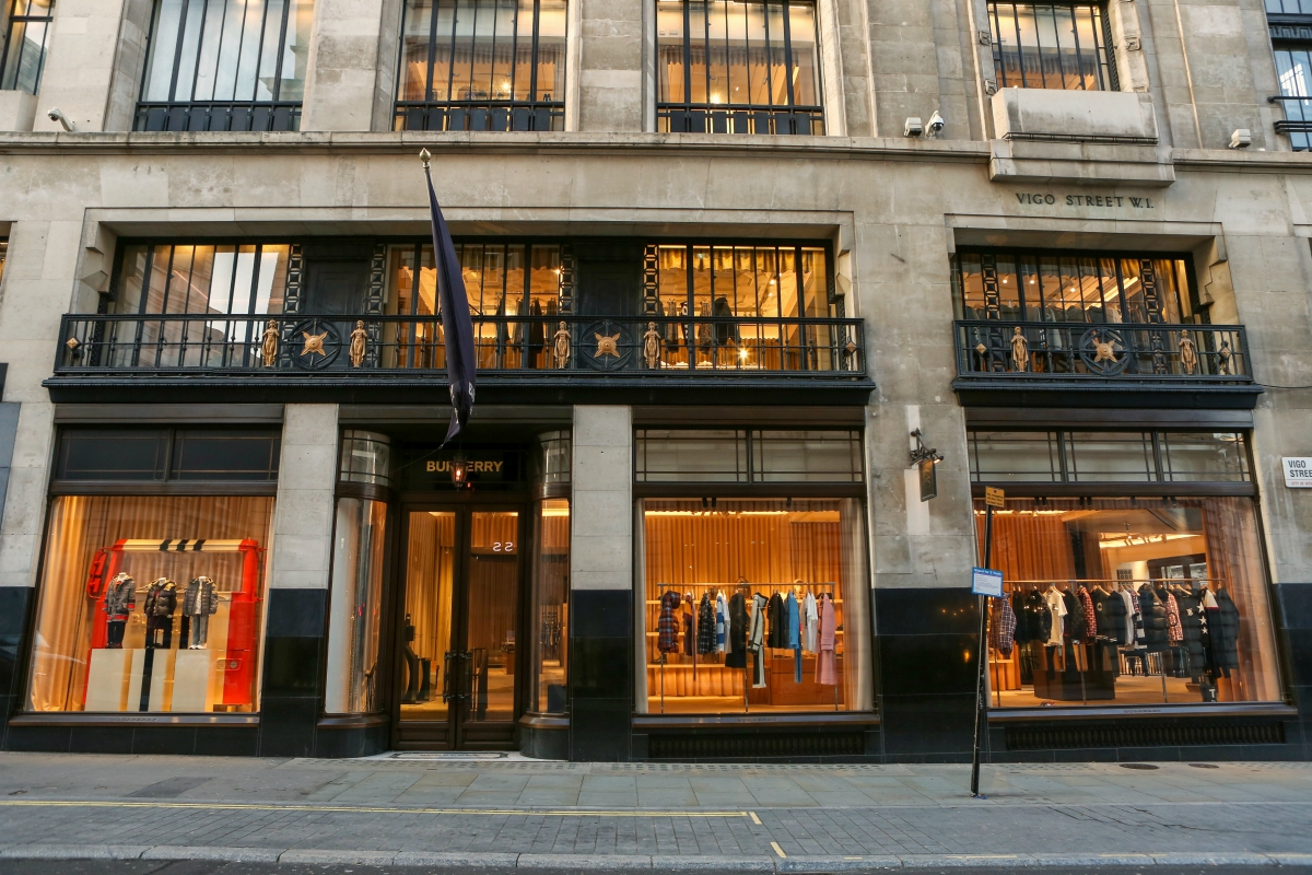 Burberry's first half revenues dipped 31%, but the luxury firm began to see an improvement as October sales turned positive amid Covid-19.