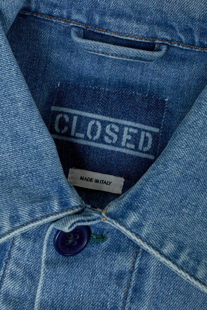 Closed teamed with Italian denim mill Candiani to develop a line of completely degradable garments made of stretch denim.