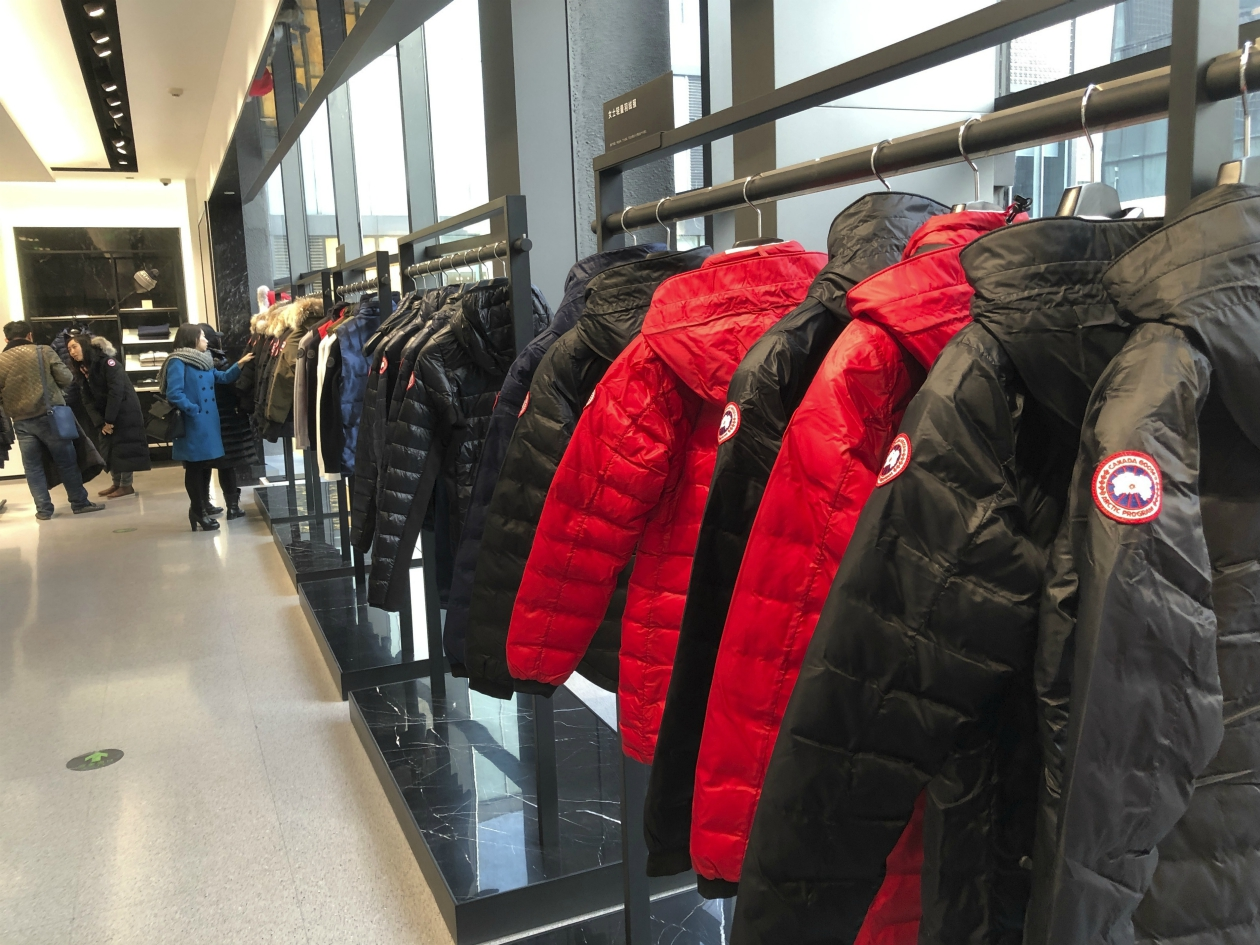 An over 30 percent gain in DTC sales in Mainland China helped Canada Goose swing back to the black in the second quarter.