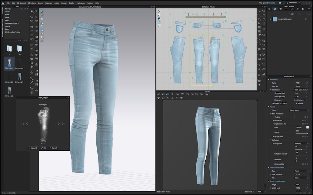 Jeanologia and CLO Virtual Fashion are joining efforts to provide jean designers a seamless and more agile digital design experience.