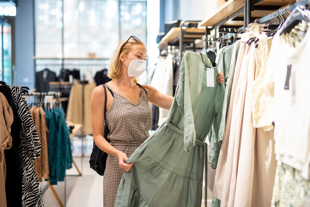 After rising for two consecutive months, consumer spending on clothing and footwear fell 0.67 percent to $441.77 million in October.