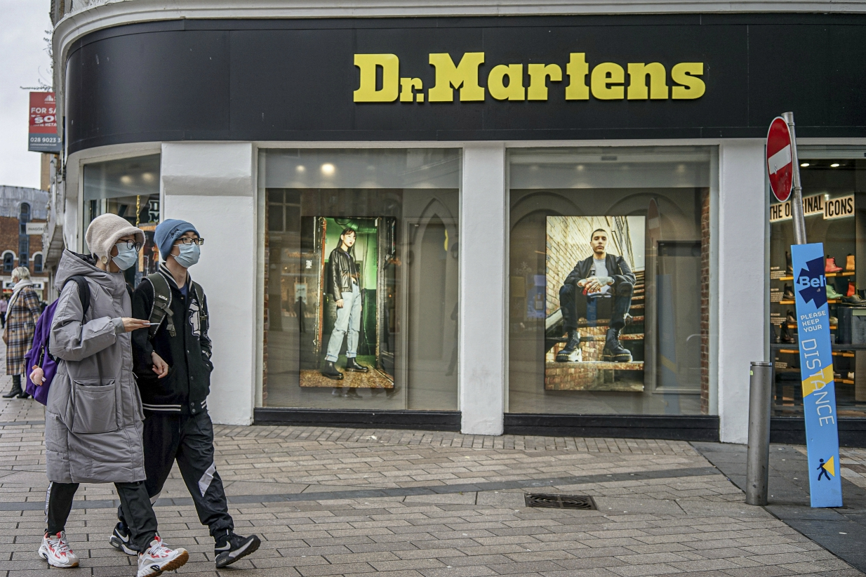 Private equity firm Permira, which owns Dr. Martens, has hired two investment bankers for its IPO, which is planned for early 2021.