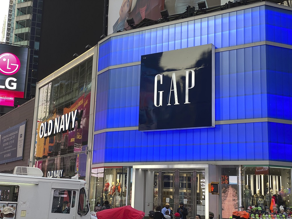 Gap Inc., which recently lost an NYC rent lawsuit, may be considering the sale of its China business, according to Bloomberg News sources.