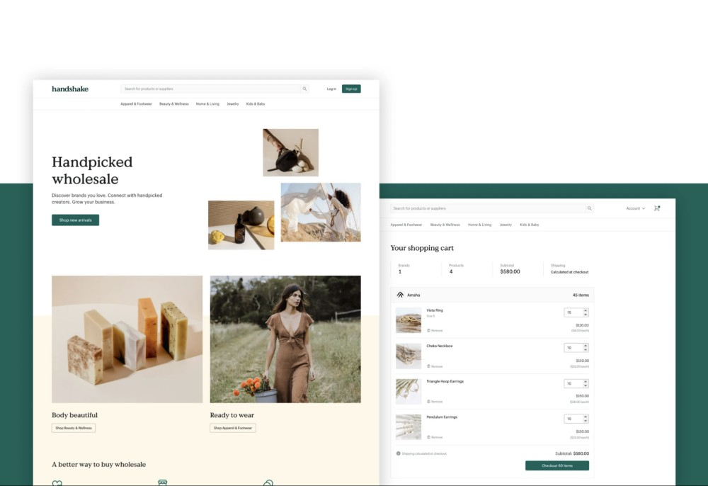 Shopify launched its wholesale marketplace Handshake