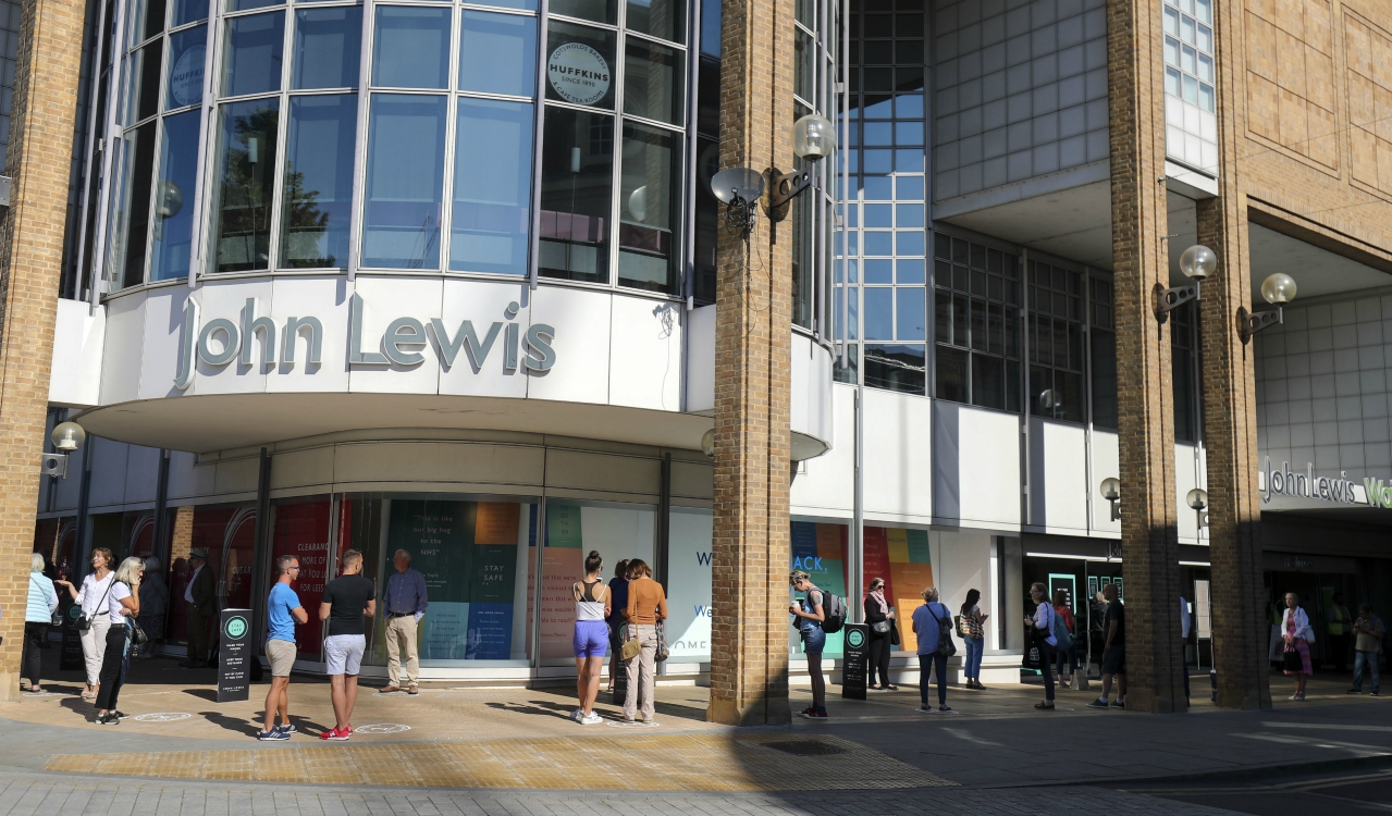 John Lewis to cut 1,500 jobs as footwear firm Clarks secures an investor, while the fate of Debenhams remains unclear.