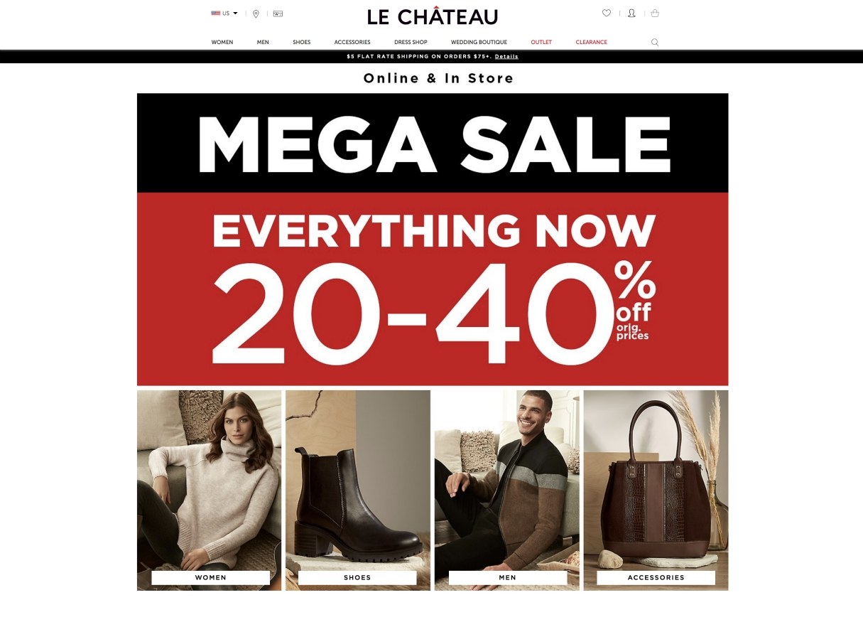Canadian specialty store Le Château is in liquidation mode following a bankruptcy order as Covid-19 pandemic takes another retail victim.