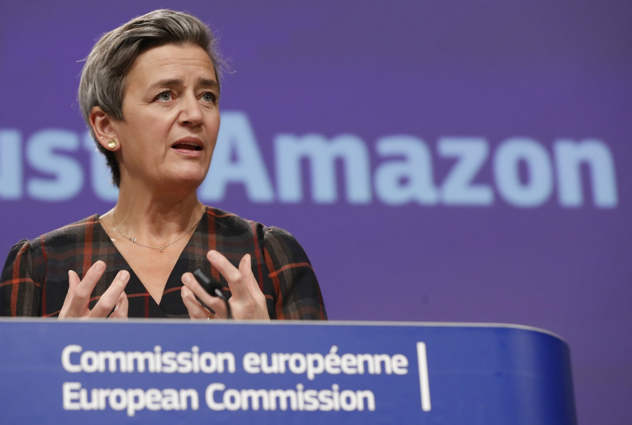 EU accuses Amazon of antitrust violations over marketplace data, alleging use of non-public information gave it an advantage over others.