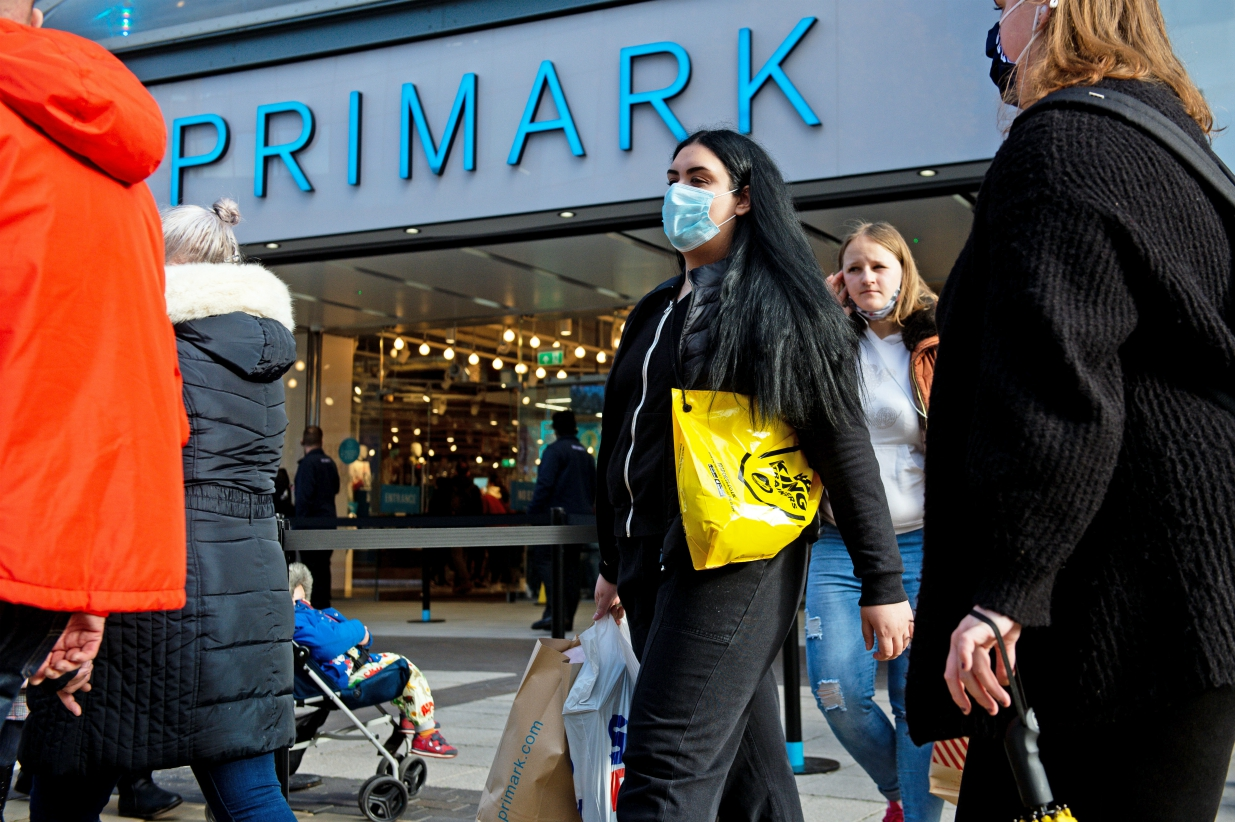 Primark owner reports a 12% decline in group revenue for 2020, and talks caution ahead due to another round of Covid-19 lockdowns.