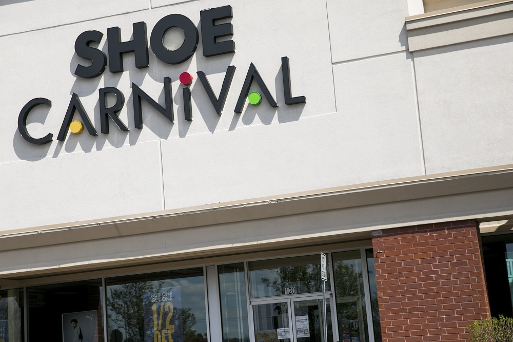 Shoe Carnival reported net income for the third quarter hit a record $14.7 million up from net income of $13.7 million a year earlier.