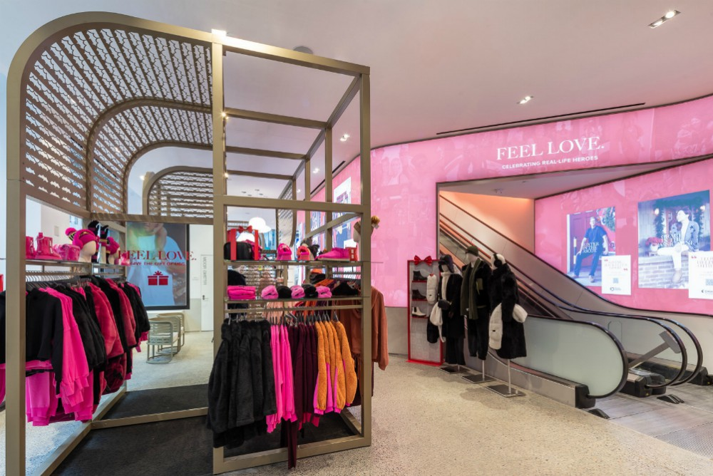 Ugg opened its first flagship location in New York City