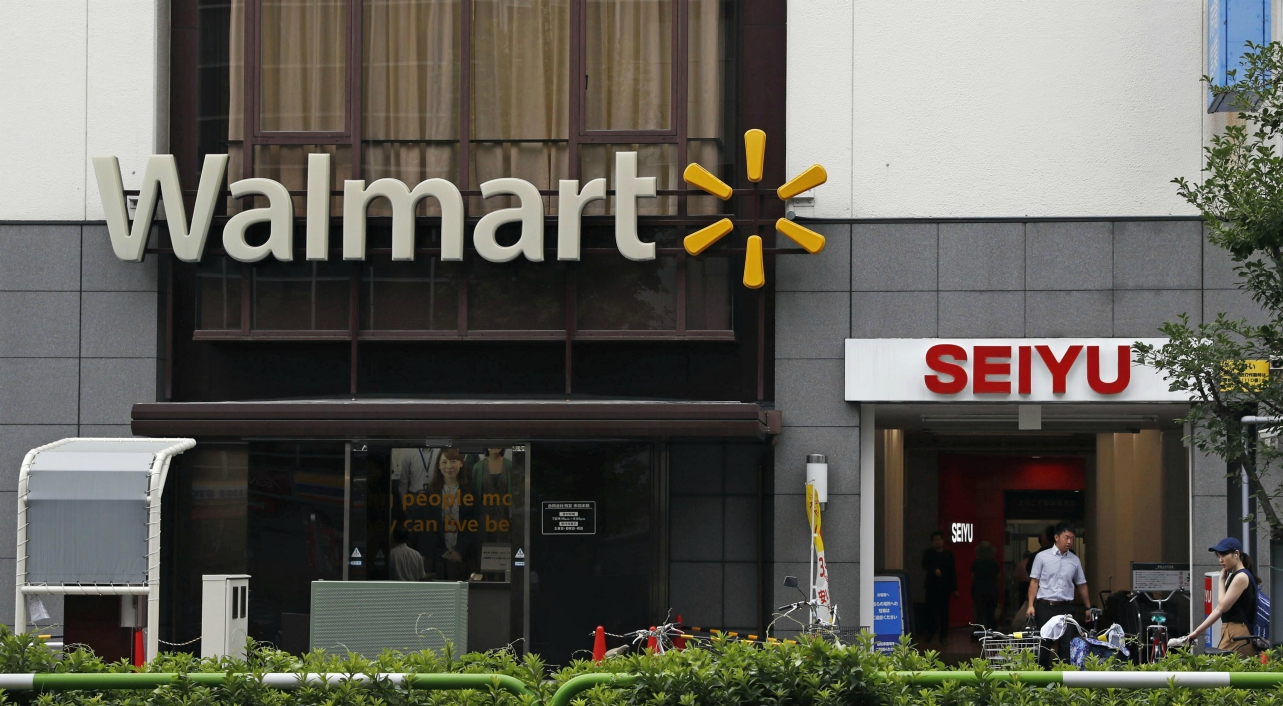 Walmart is pruning its portfolio by selling an 85% stake in Seiyu to KKR and Rakuten to focus on markets where there's greater growth ahead.