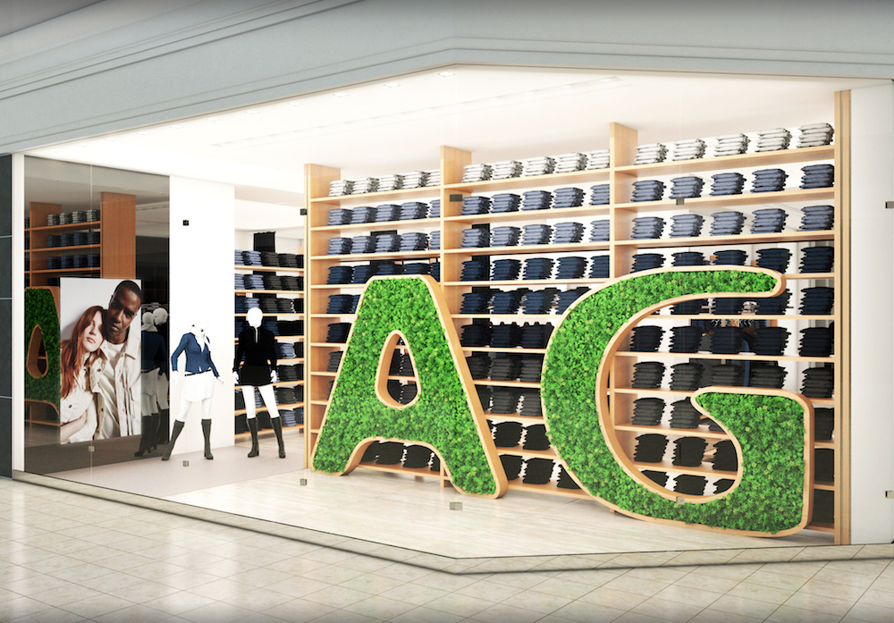 Premium denim brand AG Jeans brings its core denim and high-end collections to Atlanta's trendy Buckhead district for the holidays.