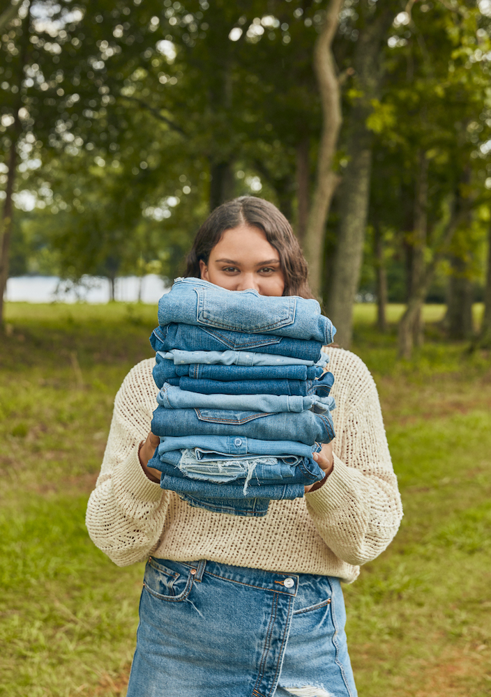 Cotton Incorporated's Blue Jeans Go Green kicked off its second-annual Denim Stack Challenge to promote responsible textile recycling.