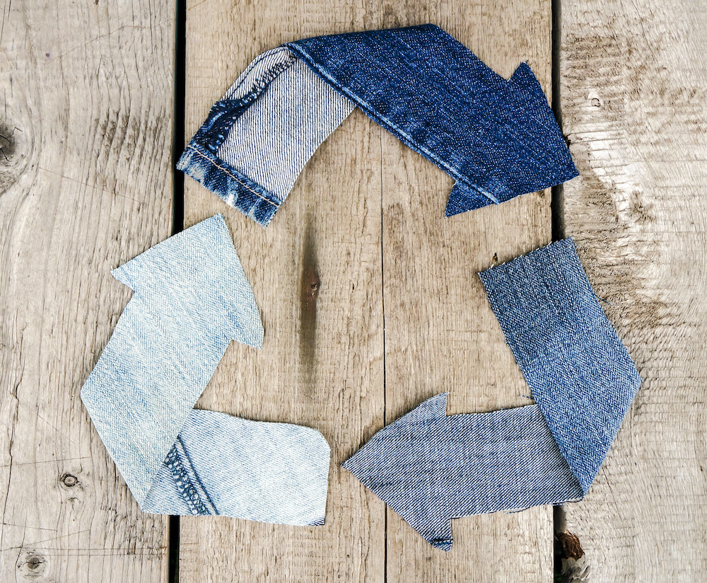 Calik Denim debuted E-Denim technology to include high levels of recycled content in denim production without sacrificing quality.
