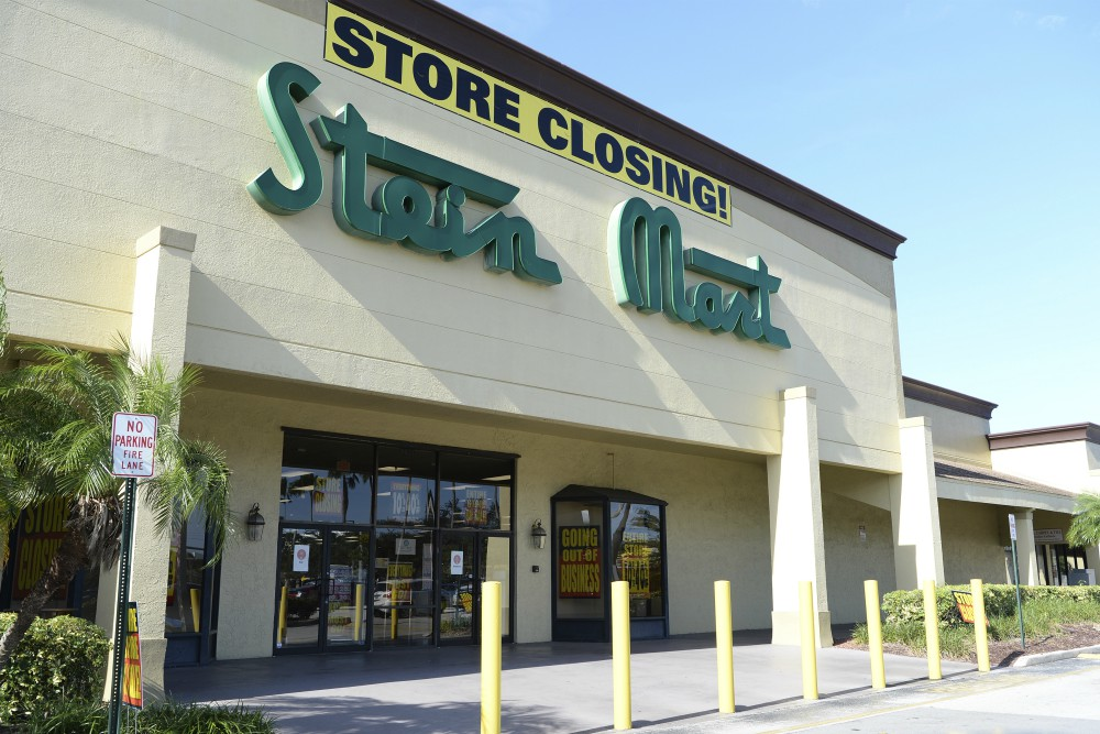 Retail Ecommerce Ventures, specializing in distressed IP assets, has bid $4 million to become the lead bidder for bankrupt Stein Mart's IP.