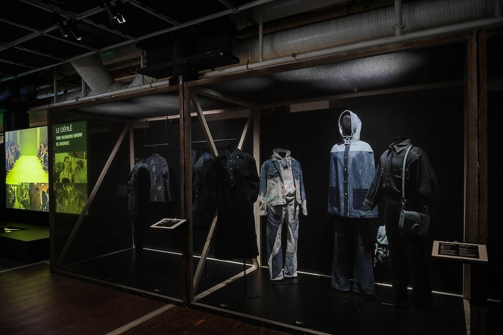 A new exhibit at Cité des sciences et de l'industrie in Paris explores the story of the most worn garment in the world: jeans.