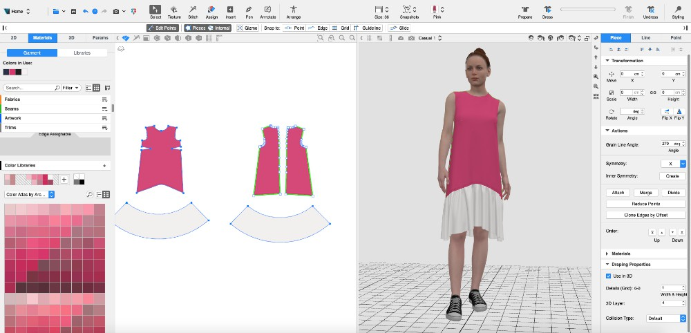 Browzwear fashion users now have access to Archroma's color library.