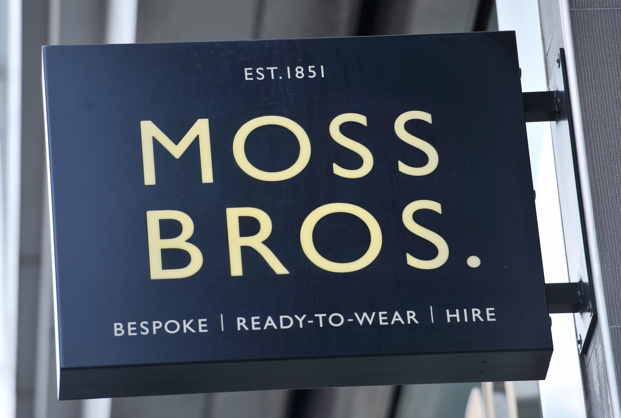 More than 75 percent of creditors approved Moss Bros' company voluntary arrangement, which will close some stores and rework rental deals.