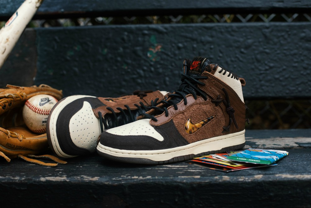 "Bodega will release the Nike x Bodega Dunk High SP ""Legend"" sneaker on Dec. 28"