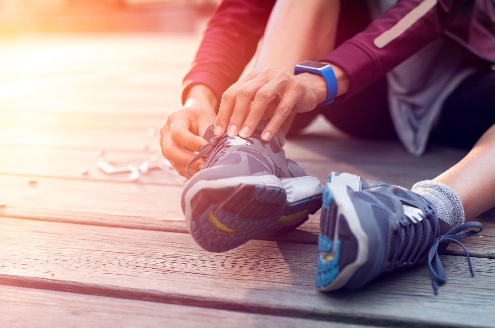 Transparency Market Research said consumer interest in fitness could bring immense growth prospects for the footwear market