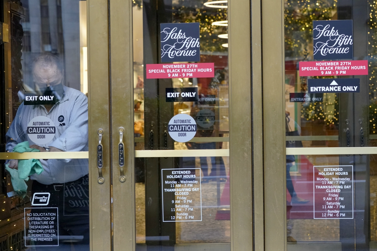 Digital tools helped Saks Fifth Avenue navigate Covid, but stores still have a role in its future.