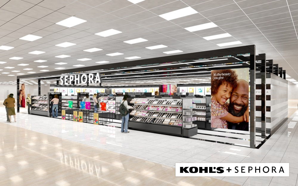 "Kohl's and makeup destination Sephora announced a long-term strategic partnership to create a new era of elevated ""Beauty at Kohl's."""