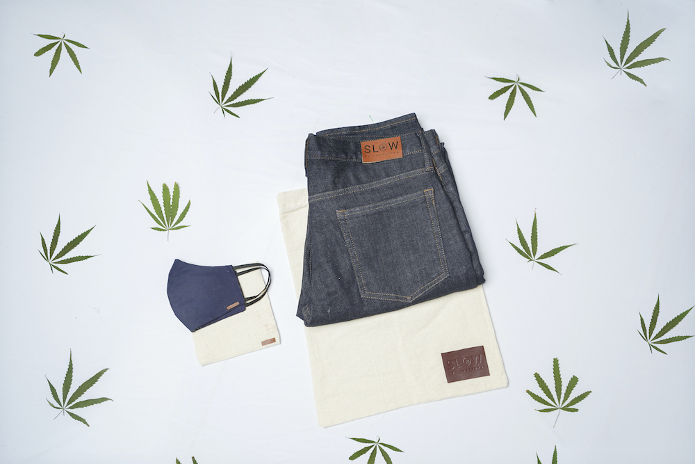 Slow Jeans launched a Kickstarter campaign debuting jeans made of Himalayan hemp, a natural fiber known for its sustainable properties.