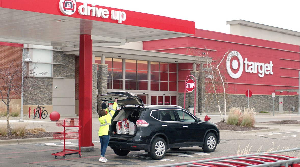 Target is extending same-day pickup and delivery up until 5 p.m. on Christmas Eve, while Dick's is debuting same-day delivery via Instacart.